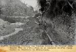 """Pose de la conduite de 8"""" en fonte allant au Reservoir de Petion-Ville"""