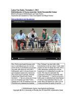 Lakou Nan Badjo, November 1, 2012: Interview with Sevite Dorsainville Estime by Hebblethwaite and Payton