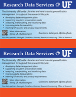 Research Data Services @ UF : Data Management Curation Task Force ( DMCTF ) Handout