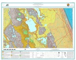 Geologic map of the USGS Daytona Beach 30 x 60 minute quadrangle, northeast Florida [3 plates]