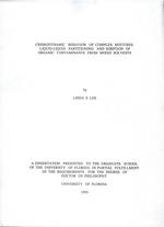 Chemodynamic behavior of complex mixtures