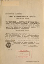 Amendment 9 to B.A.I. order 286 (Regulations governing the sanitary handling and control of hides, fleshings, hide cuttings, parings, and glue stock, sheepskins and goatskins and parts thereof, hair, wool, and other animal by-products, hay, straw, forage, or similar material offered for entry into the United States) and Amendment 1 to B.A.I. order 301 (Regulations governing the importation of domestic livestock and other animals into the United States)