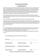 ASERL User Conduct Agreement for the ARL PD Bank