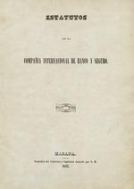Estatutos de la Compañía Internacional de Banco y Seguro