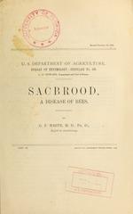 Sacbrood, a disease of bees