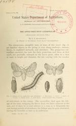 The apple-tree tent caterpillar (Malacasoma americana Fab.)