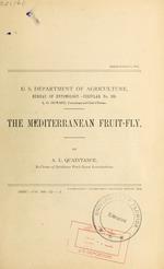 The Mediterranean fruit-fly (Ceratitis capitata Wiedemann)