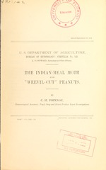 """The Indian-meal moth and """"weevil-cut"""" peanuts"""
