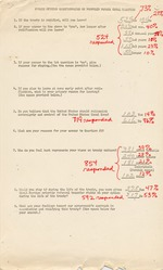 Public Opinion Questionnaire on Proposed Panama Canal Treaties - Results