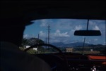Driving on road to El Yunque Rainforest