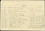 Cason, William.   Miscellaneous military and personal papers, 1837-1879, Folder 1