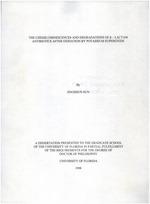 The Chemiluminescences and degradations of ß-lactam antibiotics after oxidation by potassium superoxide
