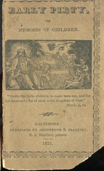 Early piety, or, Memoirs of children