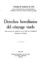 Derechos hereditarios del conyuge viudo