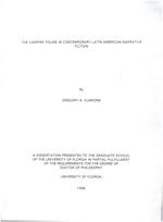 The vampire figure in contemporary Latin American narrative fiction