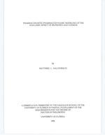 Pharmacokinetic-pharmacodynamic modeling of the analgesic effect of ibuprofen and codeine