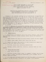 Administrative instructions exempting certain articles from requirements of regulations supplemental to gypsy moth and brown-tail moth quarantine no. 45