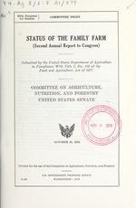Status of the family farm