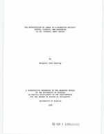 The reproduction of labor in a migration society : gender, kinship, and household in St. Vincent, West Indies