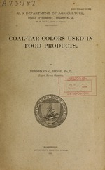 Coal-tar colors used in food products
