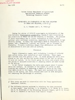 Experiments on hibernation of the pink bollworm in Texas and Oklahoma, 1952-53