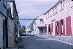 View of Quin Farara's on Corn Alley, Saint John, Antigua