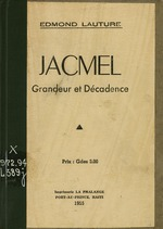 Jacmel, grandeur et decadence