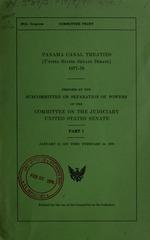Panama Canal treaties (United States Senate debate), 1977-78