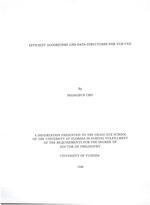 Efficient algorithms and data structures for VLSI CAD