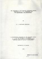 The influence of the English eighteenth-century satirists on G. Ch. Lichtenberg and the Nachtwachen von Bonaventura