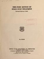 Tire-tube method of fence-post treatment