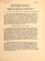 Experiments in the use of DDT and other insecticides for control of the spruce budworm in Colorado in 1944