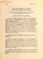 Colonization of the organism causing milky disease of Japanese beetle larvae, 1939-1945