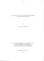 Prediction of cooling of the nocturnal environment using two atmospheric models