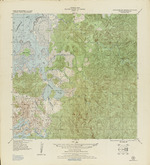 Terrain Map Military Survey of Panama