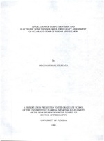 Application of computer vision and electronic nose technologies for quality assessment of color and odor of shrimp and salmon