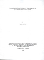 A decision theoretic approach to estimation of variances and variance ratios