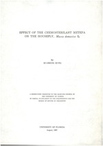 Effect of the chemosterilant, Metepa, on the housefly, Musca domestica L.