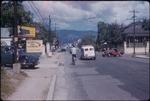 An urban street in Kingston, Jamaica