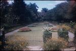 The sunken garden at Hope Botanical Gardens