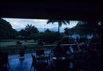 A hotel terrace in Kingston