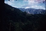 View of the Blue Mountains, Jamaica