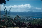 View of mountains and Montego Bay, Saint James, Jamaica from Richmond Hill