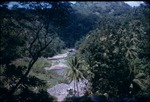 Rocky stream in the mountains of Portland, Jamaica