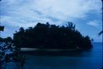 A small barrier island near Port Antonio, Portland, Jamaica