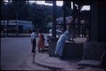 People on an urban street in Ocho Rios Square