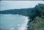 Eastern coastal shoreline of Ocho Rios, Saint Ann, Jamaica