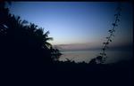 Sunset view of the Caribbean Sea near Saint Ann, Jamaica