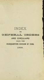 General orders and circulars