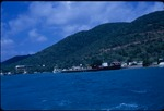 View of Saint Thomas from a ferry